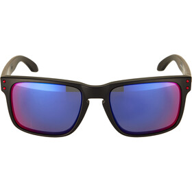 Oakley Holbrook Solbriller, matte black/positive red iridium